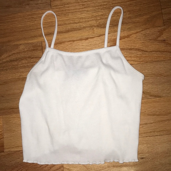 Forever 21 Tops - White Crop Top Size Small